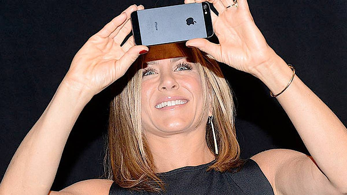 Jennifer Aniston: tapeta w telefonie