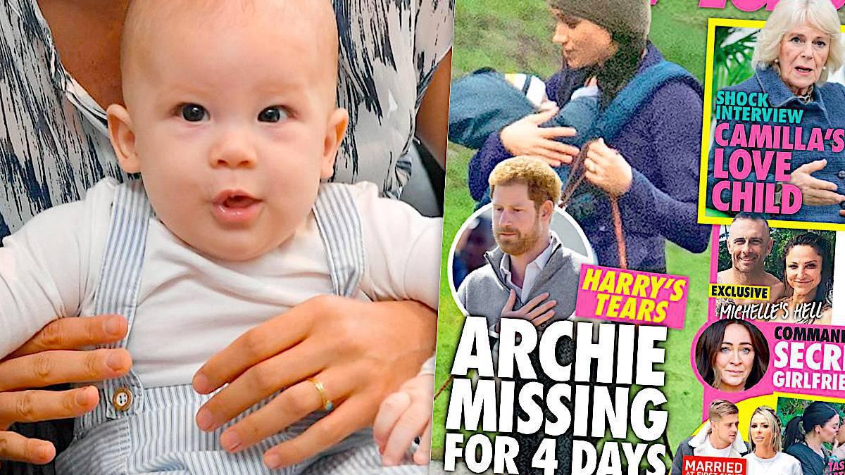 Archie Harrison zaginął na 4 dni?