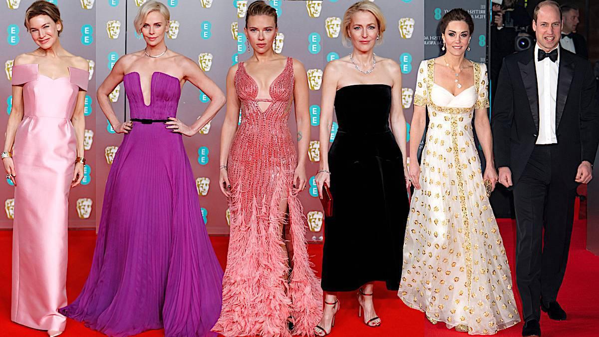 BAFTA 2020: kreacje gwiazd