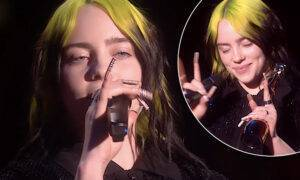 Billie Eilish na BRIT Awards 2020 zaśpiewała No Time To Die