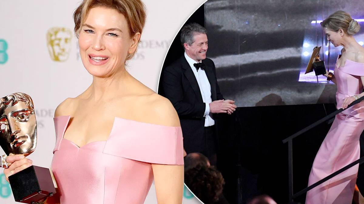Renee Zellweger i Hugh Grant na BAFTA 2020