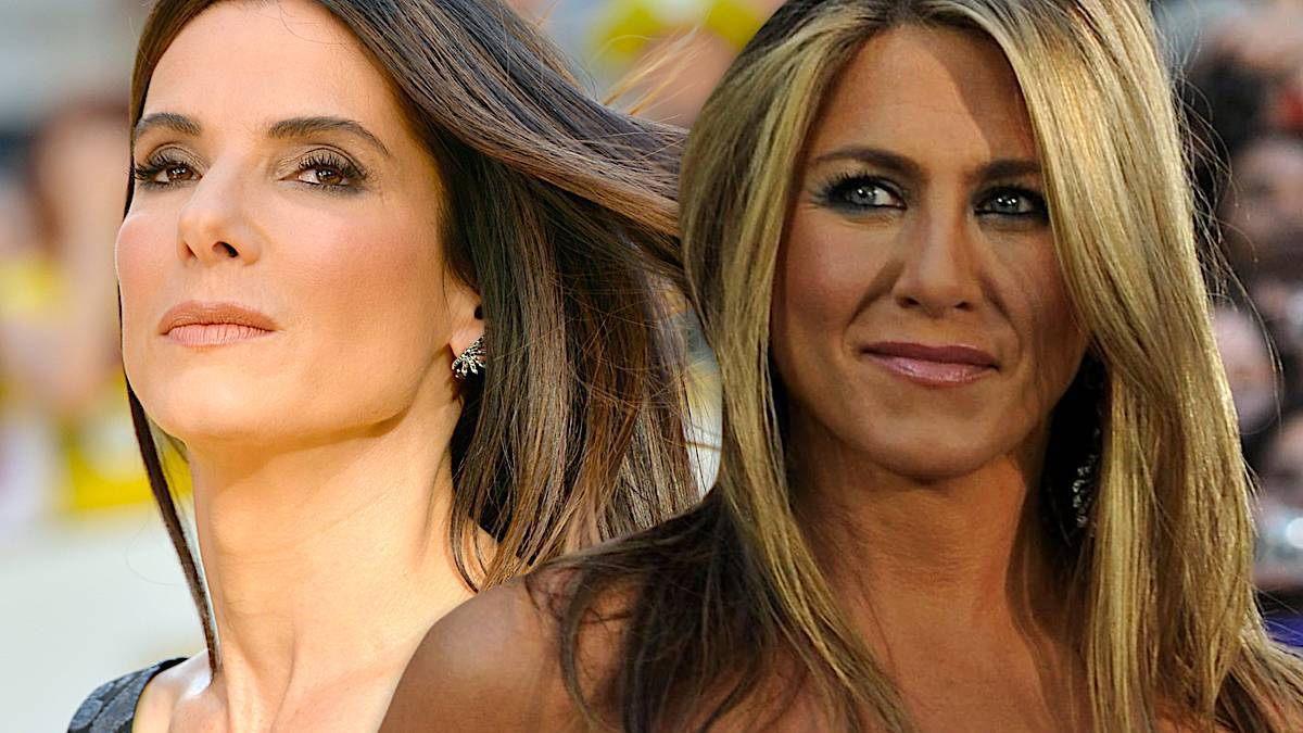 Sandra Bullock i Jennifer Aniston