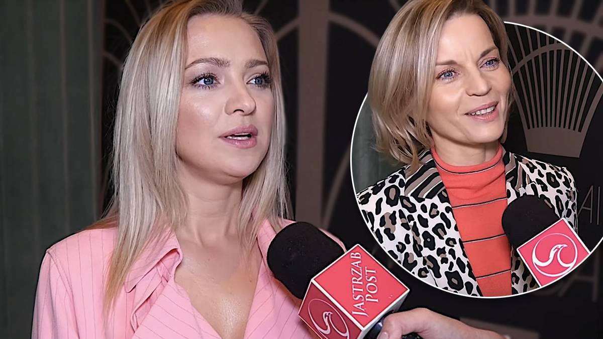 Barbara Kurdej-Szatan i Małgorzata Foremniak o walentynkach