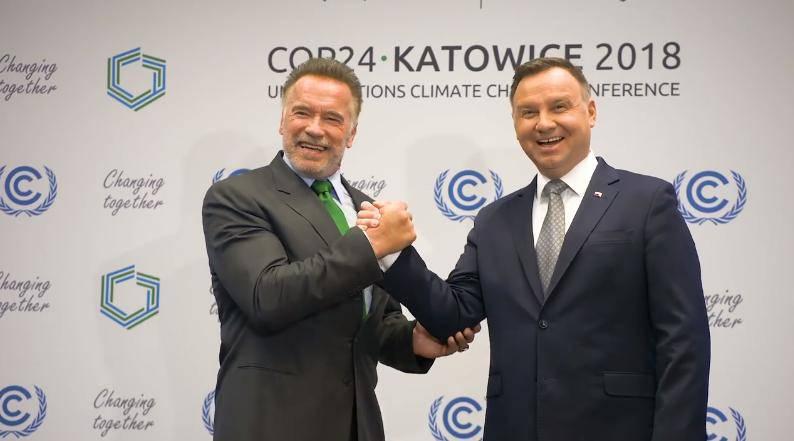 Andrzej Duda, Arnold Schwarzenegger