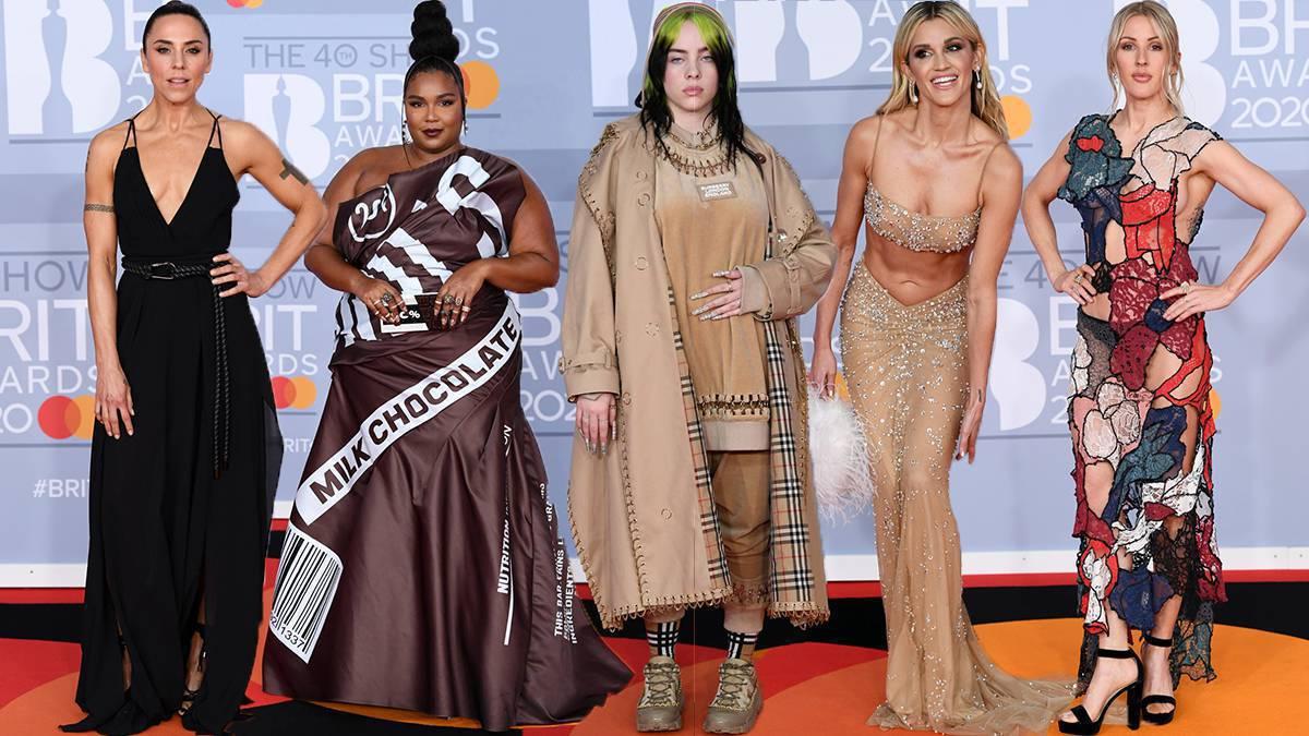 Gwiazdy na BRIT Awards 2020