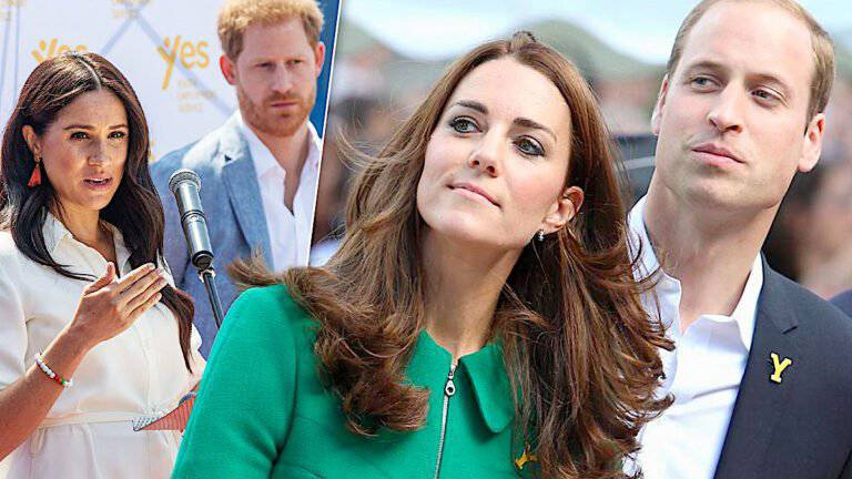Meghan i Harry, Kate i William