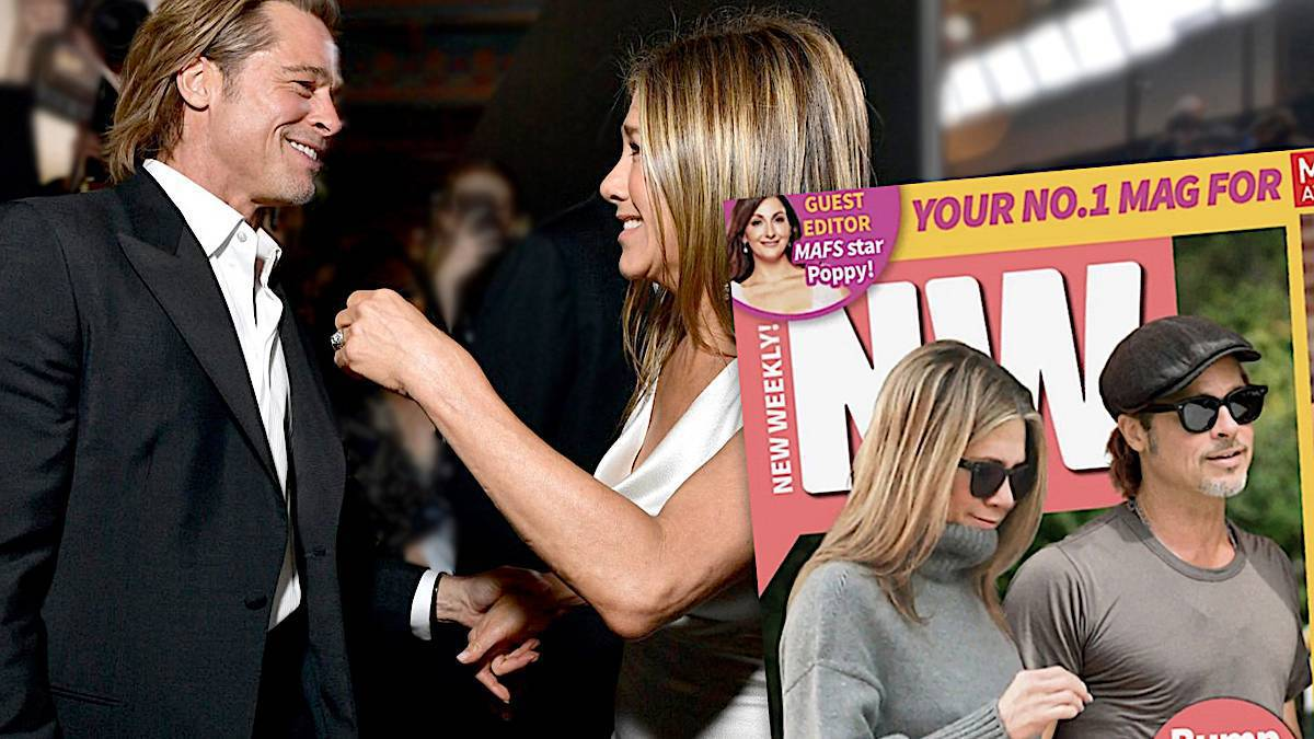 Jennifer Aniston i Brad Pitt razem na wakacjach