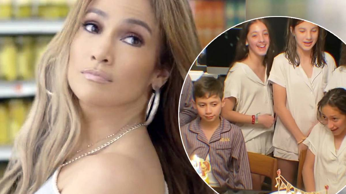 Jennifer Lopez - urodziny dzieci