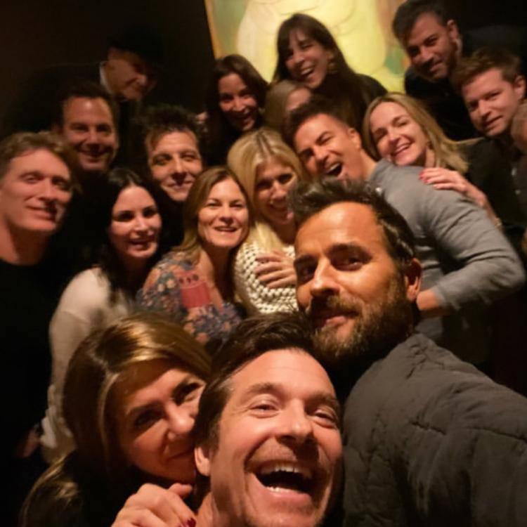 Selfie Justina Theroux z okazji święta Dziękczynienia, InstagramSelfie Justina Theroux z okazji święta Dziękczynienia, Instagram