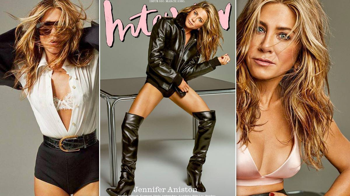 Jennifer Aniston w sesji dla Interview