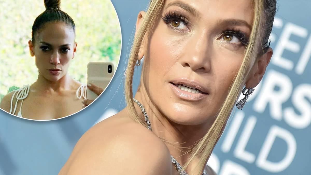 Jennifer Lopez jak bogini