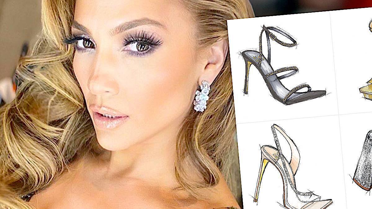 Jennifer Lopez, kolekcja butów