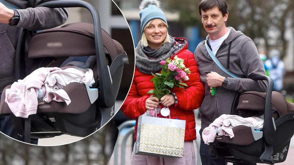 Joanna Moro: nosidełko dla córki