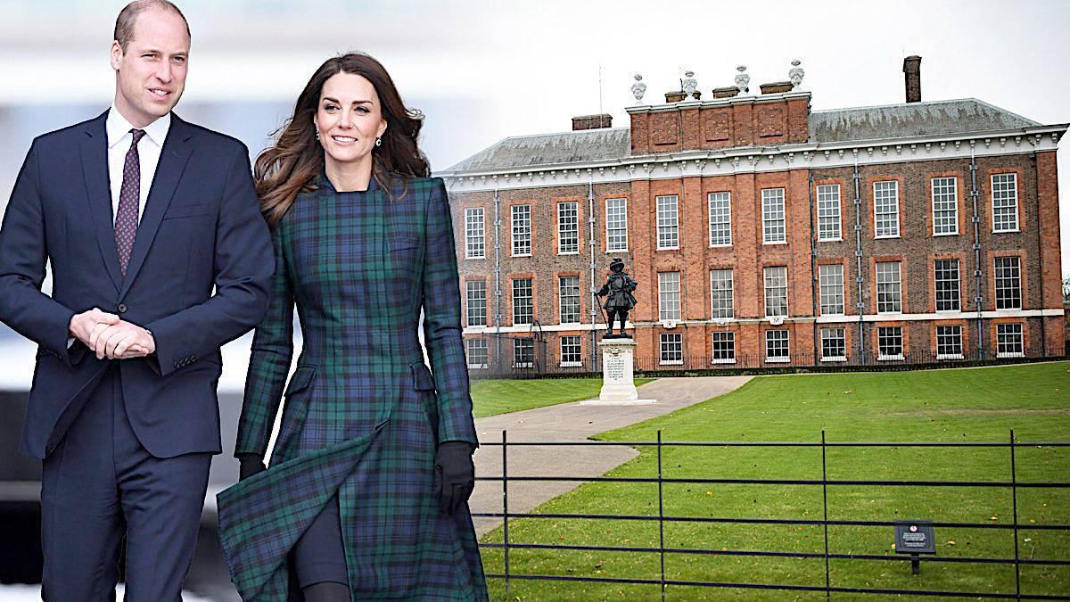 Księżna Kate i książę William, Pałac Kensington