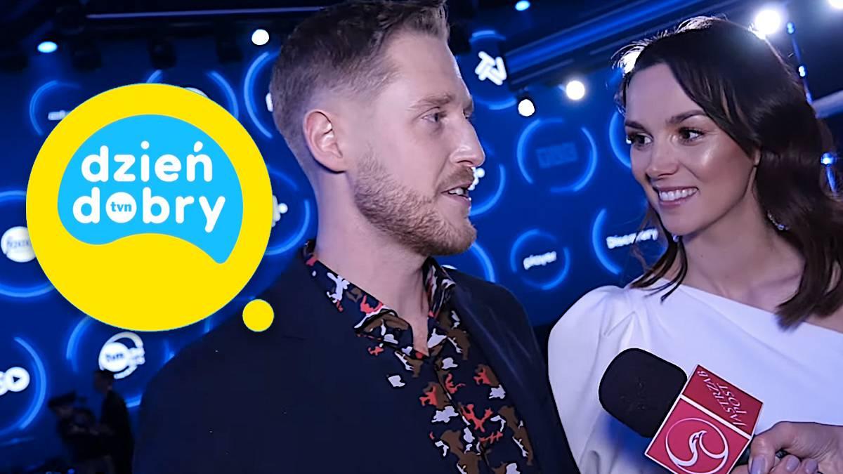 Paulina Krupińska i Damian Michałowski o Dzień Dobry TVN