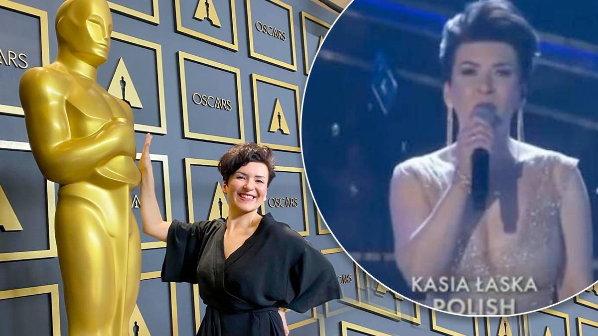 Kasia Łaska – Oscary 2020