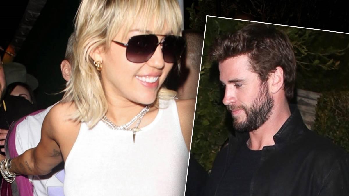Liam i Miley Cyrus na jednej imprezie