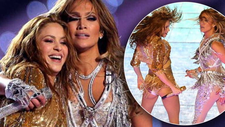 Super Bowl - Shakira i Jennifer Lopez