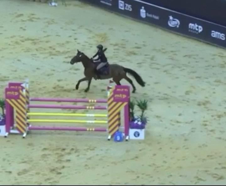 Martyna Dubieniecka wygrała zawody jeździeckie