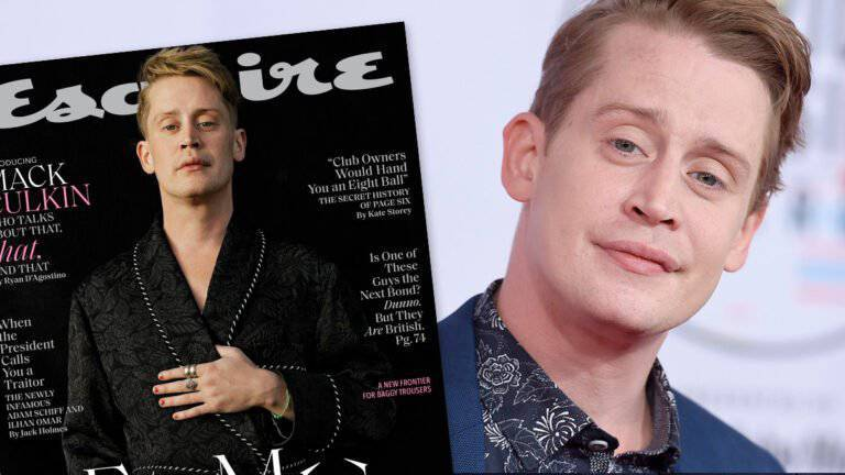 Macaulay Culkin w Esquire