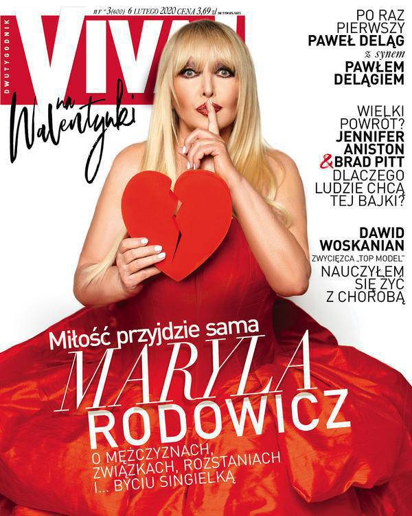 Maryla Rodowicz na okładce Vivy!