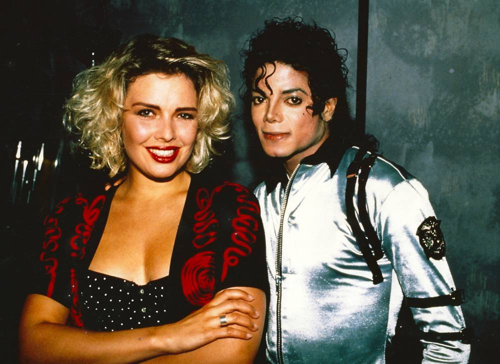 Kim Wilde i Michael Jackson