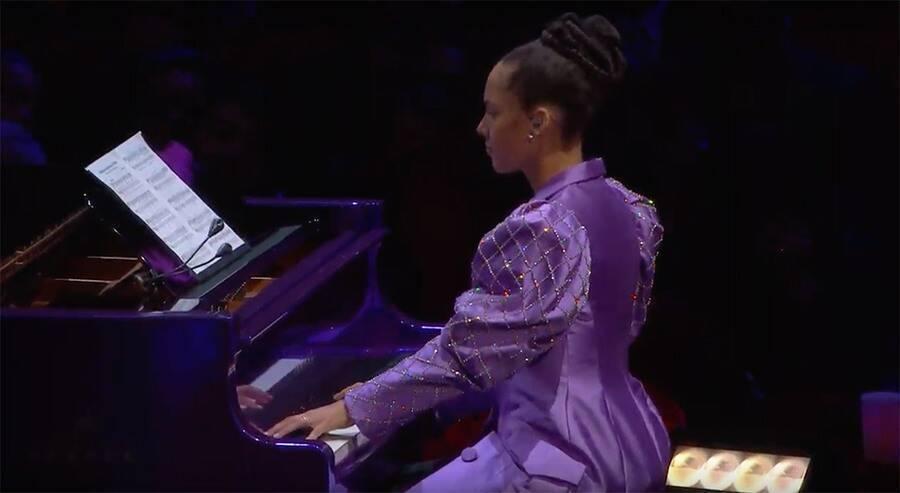 Alicia Keys - pożegnanie Kobe Bryanta