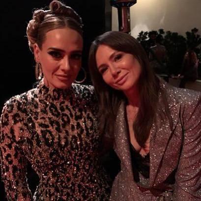 Adele i Kinga Rusin razem na imprezie