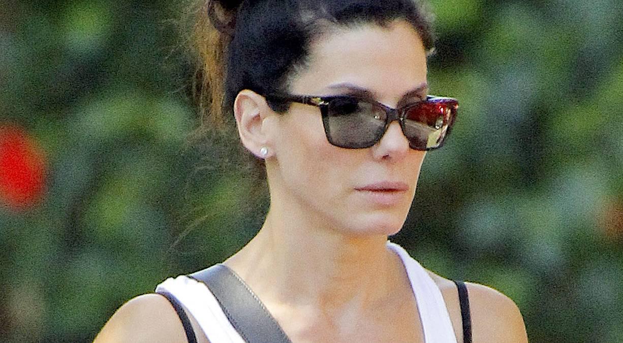 Sandra Bullock bez makijażu