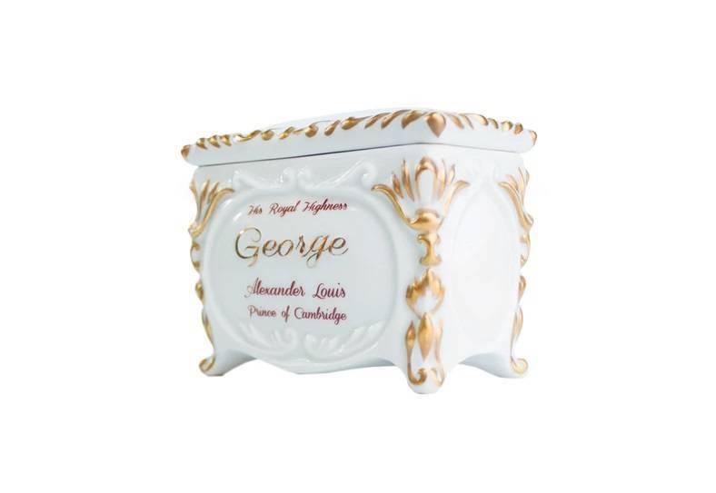 Porcelana Kristoff - szkatułka dla księcia George'a