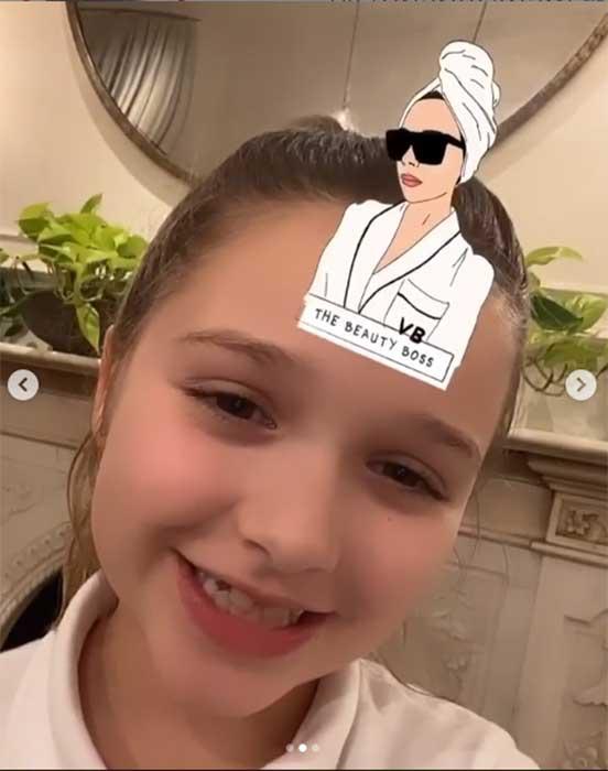 Harper Beckham losuje filtr VB