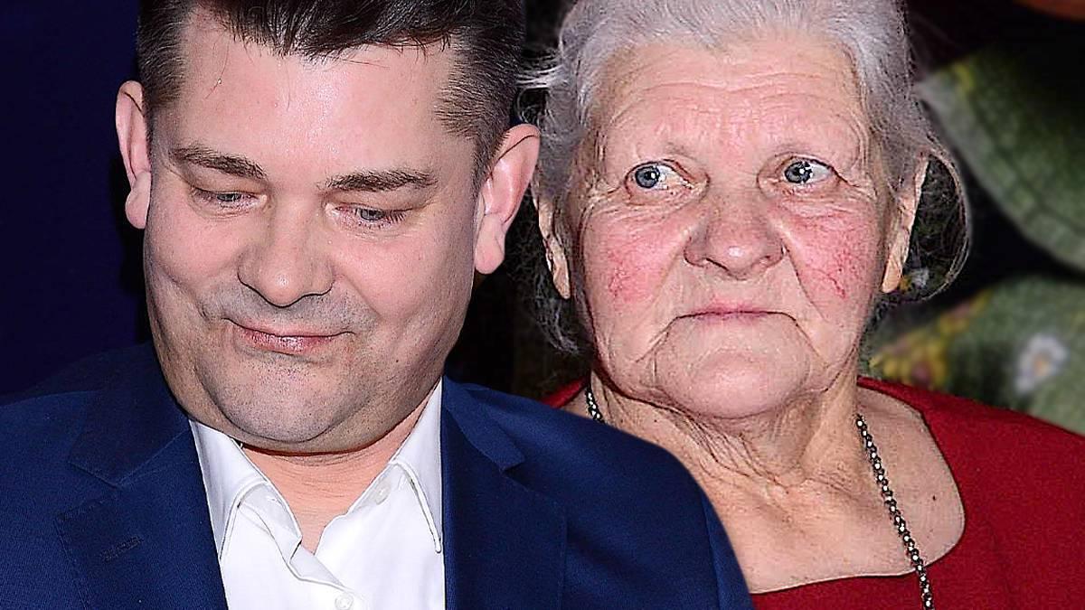 Zenek Martyniuk z mamą