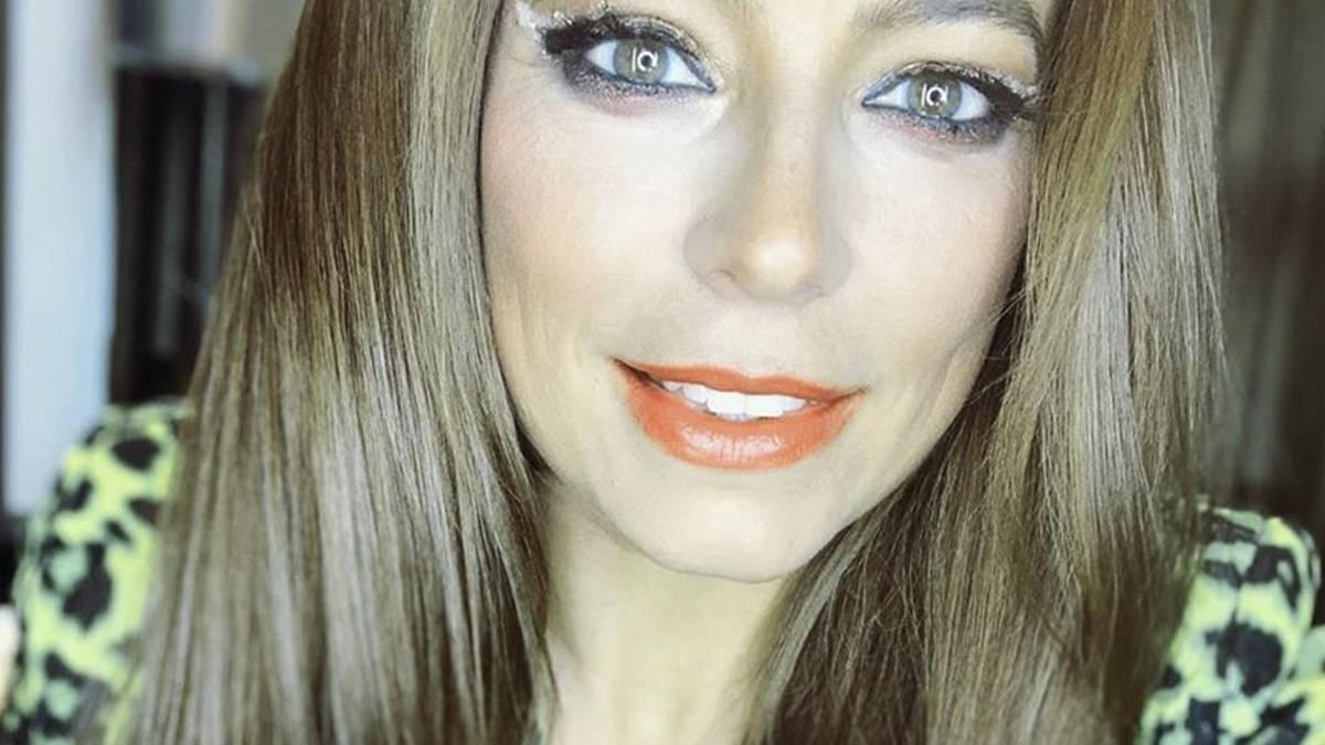 Anna Mucha - makijaż