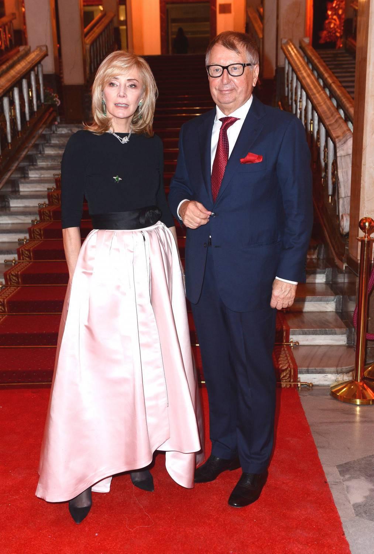 Jerzy Starak i żona Anna