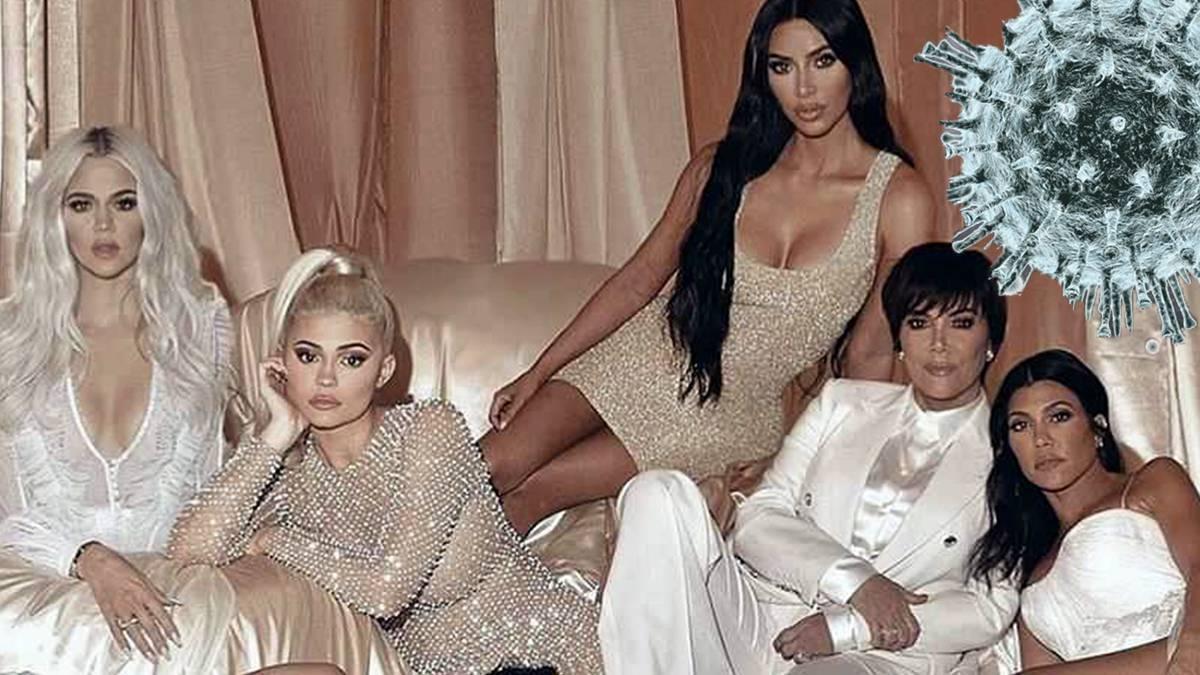 Siostry Kardashian - koronawirus