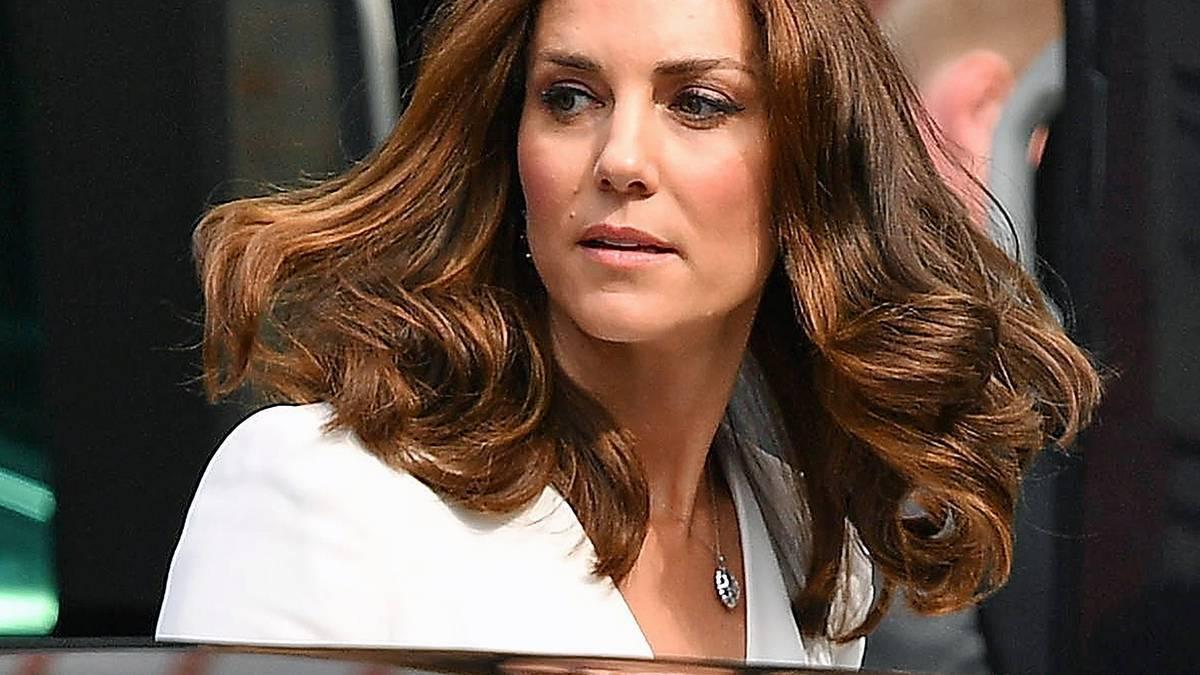 Księżna Kate z dziećmi na zakupach