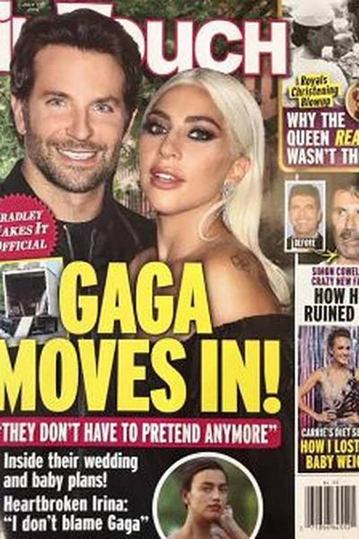 Gaga i Bradley Cooper na okładce In Touch