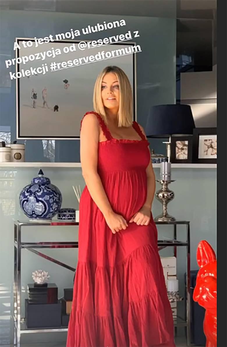Małgorzata Rozenek w sukni z siecówki