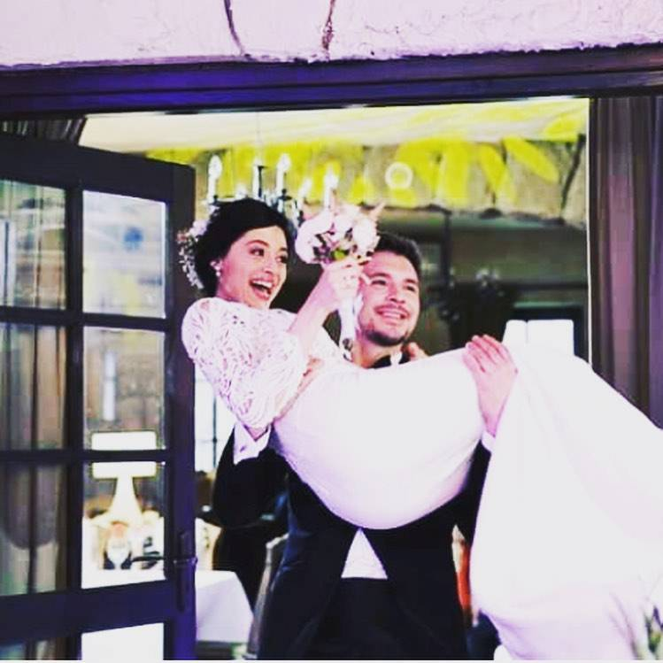 Mikołaj Roznerski i Adriana Kalska wzięli ślub na planie M jak miłość