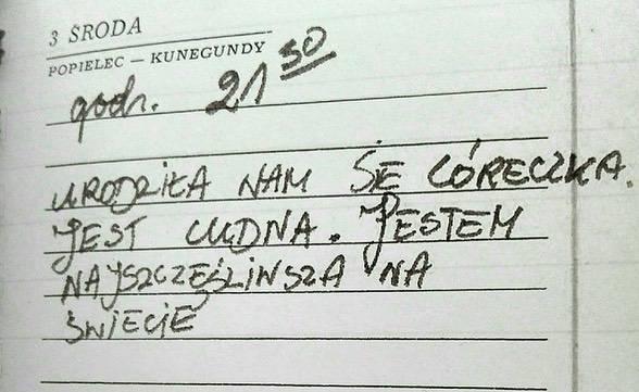 Wpis z pamiętnika Anny Jantar