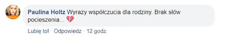 Paulina Holtz żegna Grzegorza Czepułkowskiego