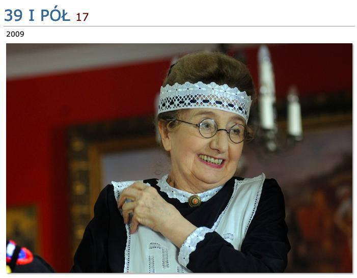 Aleftyna Gościmska w 39 i pół