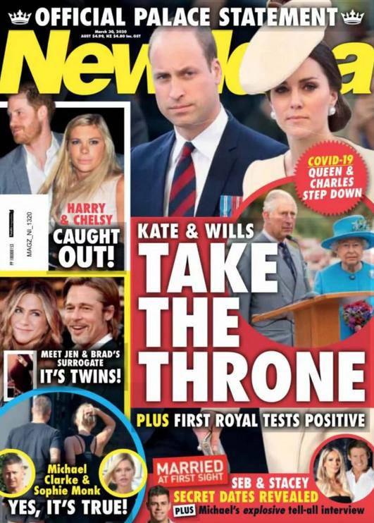 Księżna Kate i książę William przejmą tron?