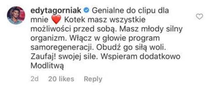 Edyta Górniak wspiera córkę Kasi Kowalskiej