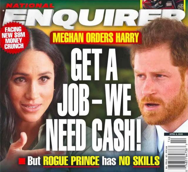Meghan Markle żąda, by książę Harry znalazł pracę