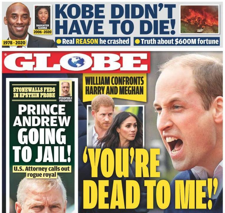 Książę William wykrzyczał do Harry'ego przykre słowa