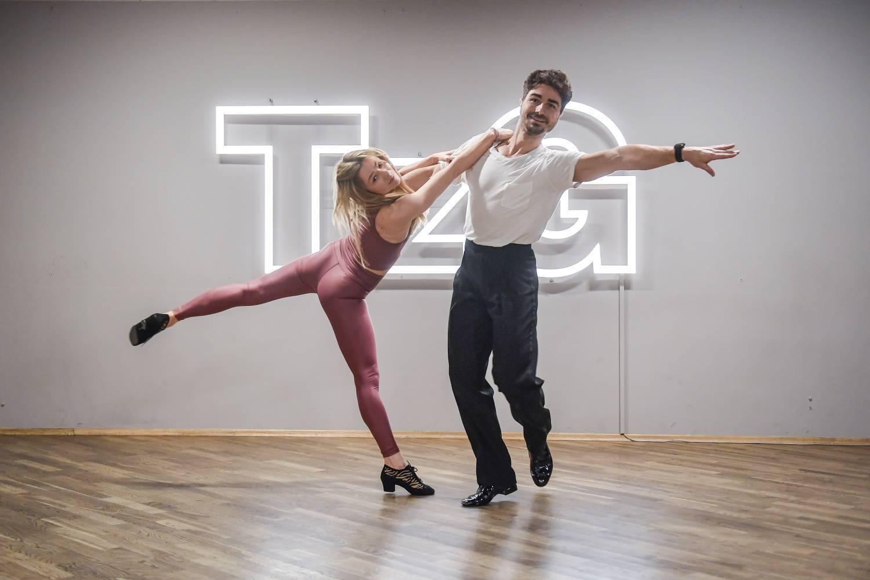 """Ania Karwan i Jan Kliment – trening do """"Tańca z gwiazdami"""""""