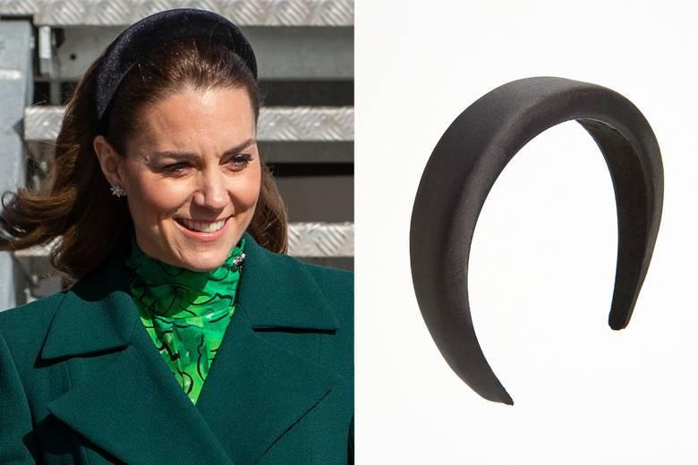 Księżna Kate / czarna opaska Reserved (20 zł)
