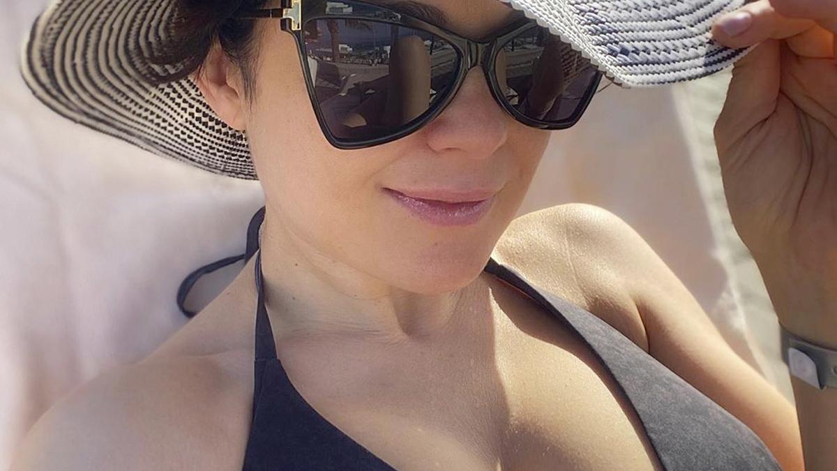 Katarzyna Cichopek na wakacjach