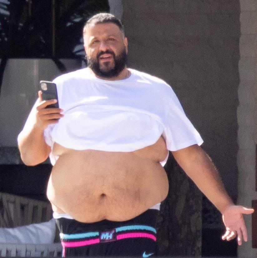 DJ Khaled ma spory brzuch